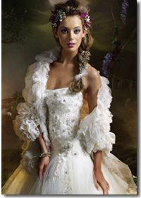 свадебные платья Lazaro