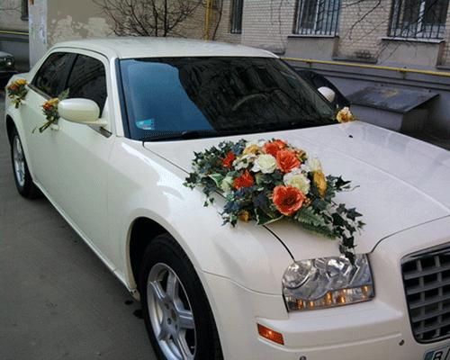 Свадебные банты на свадебную машину своими руками фото 378