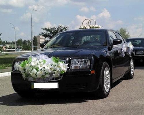 Украшение для свадебной машины своими руками фото