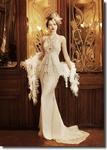 свадебные платья и шляпки YolanCris