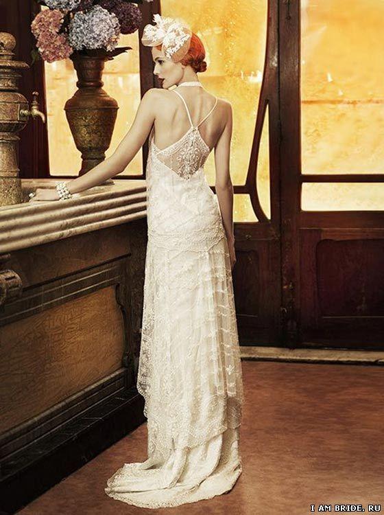 Свадебное платье в стиле чикаго 20 30х годов