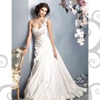 свадебные платья 2010