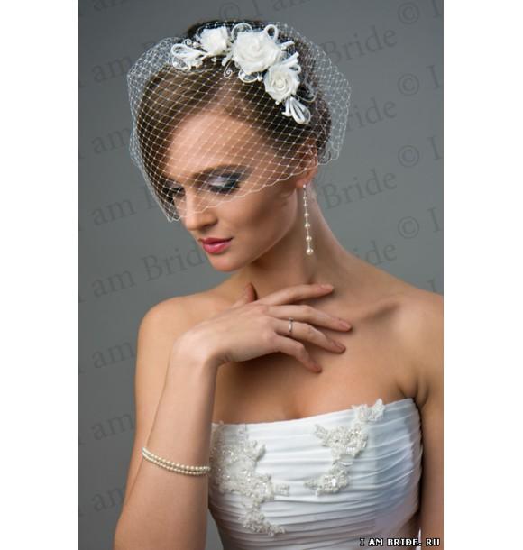 Как сделать шляпку для невесты 23