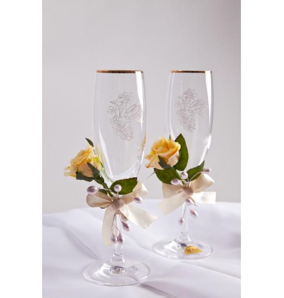 свадебные бокалы Iambride