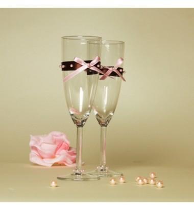 Свадебные бокалы №22 Артикул Сш-10