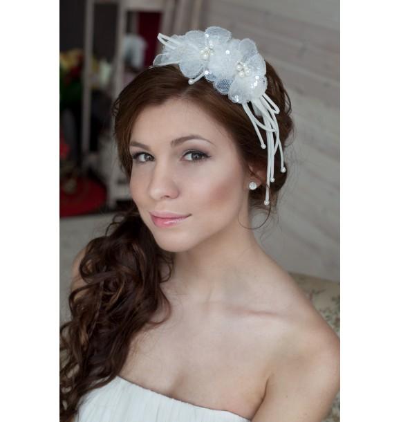Свадебные украшения для волос мастер-класс