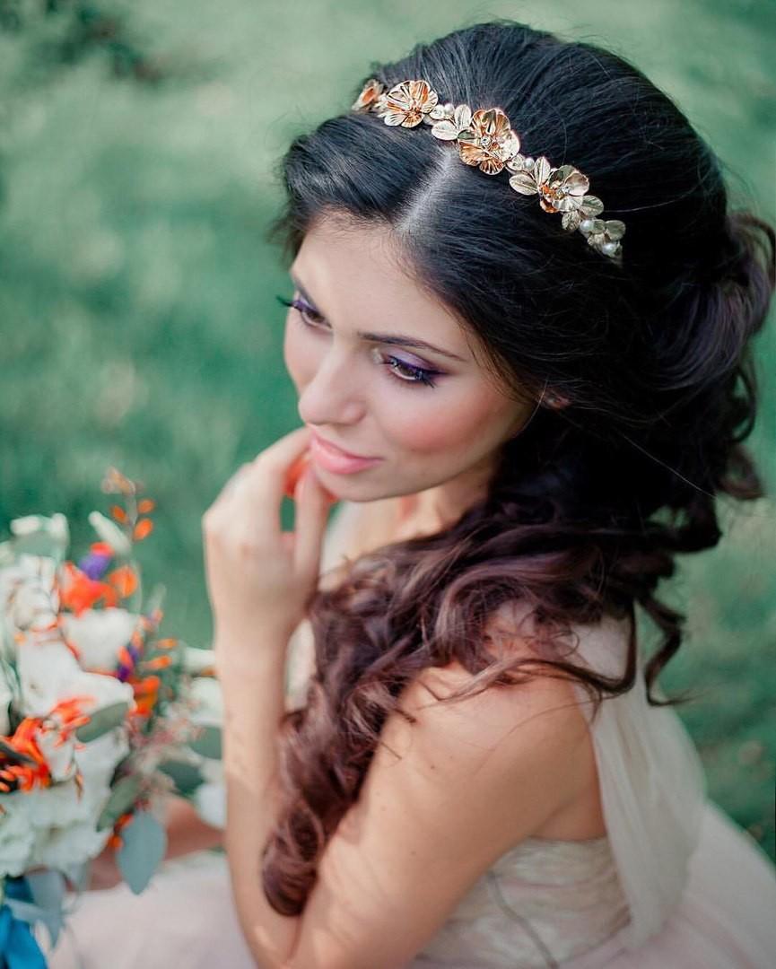 Гребень свадебный своими руками